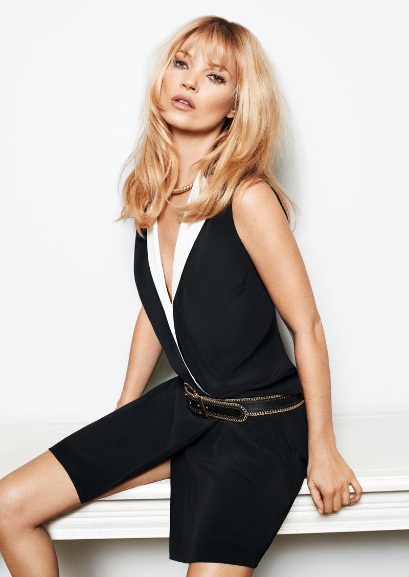 Kate Moss para Mango colección primavera 2012