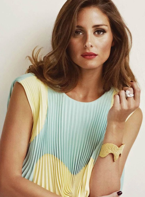 Olivia Palermo para Marie Claire