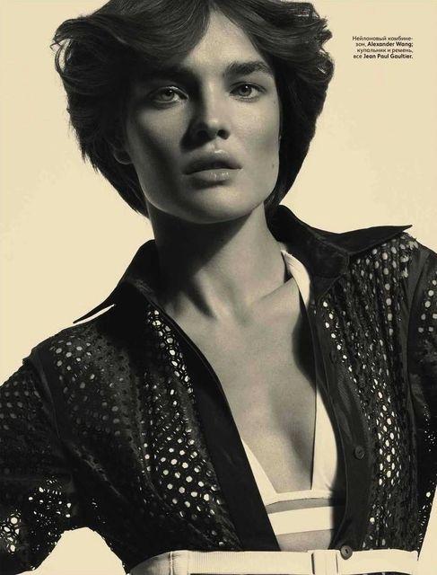Natalia Vodianova para Vogue Rusia Junio 2012