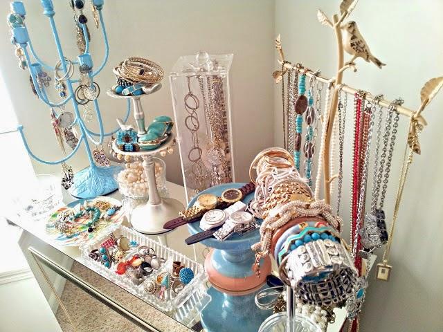 DIY ideas para organizar joyas