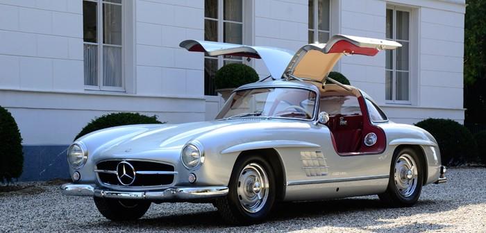 Mercedes 300SL de 1955. Soñando con Alas de Gaviota