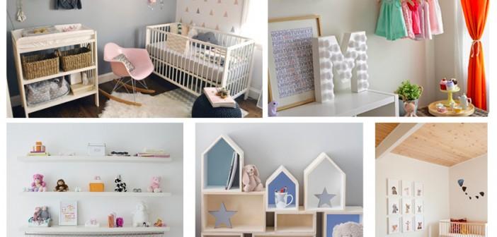 Ideas para decorar la habitaci n de tu beb tendencia cool - Ideas para decorar una habitacion de bebe ...