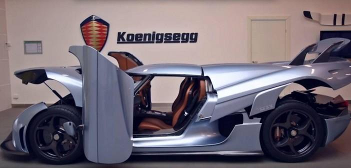 Koenigsegg REGERA, el nuevo traje de Optimus Prime