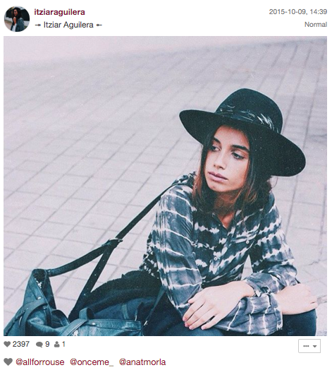 Itziar Aguilera 10 bloggers españolas que tienes que seguir en Instagram