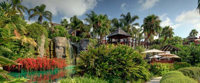 Hotel Asia Gardens, lujo asiático en Alicante