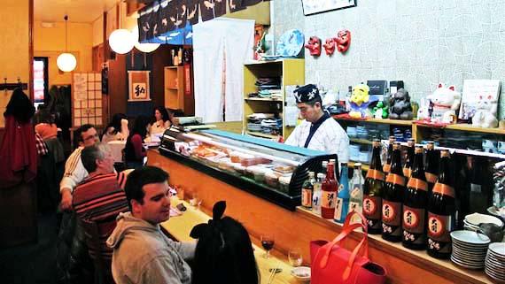 Naomi 7 Restaurantes japoneses en Madrid que sirven el mejor sushi