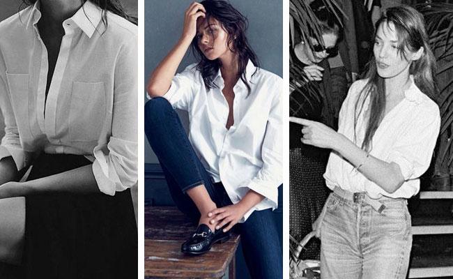 3 Tendencias que tienes que llevar esta temporada La camisa blanca
