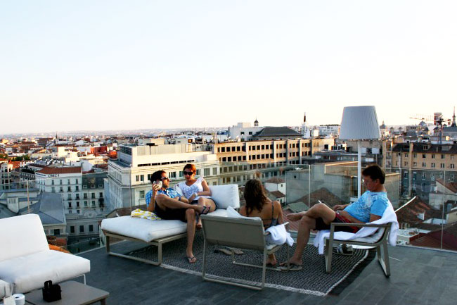 Las 24 terrazas m s cool de madrid tendencia cool for Terraza piscina madrid