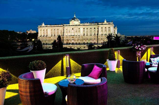 Las 24 terrazas m s cool de madrid tendencia cool for Jardines sabatini conciertos