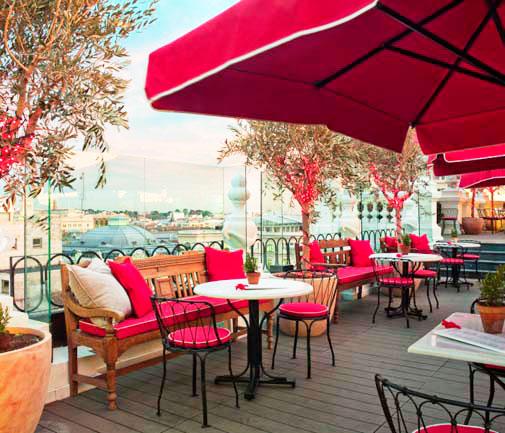 Las 24 terrazas m s cool de madrid tendencia cool for Restaurantes con terraza madrid