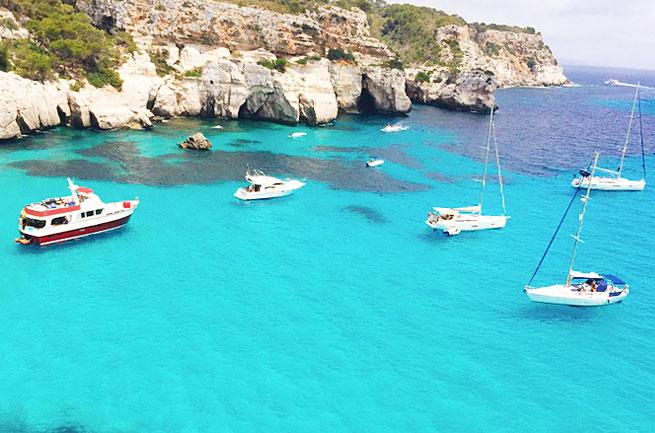 Escapada a Menorca calas