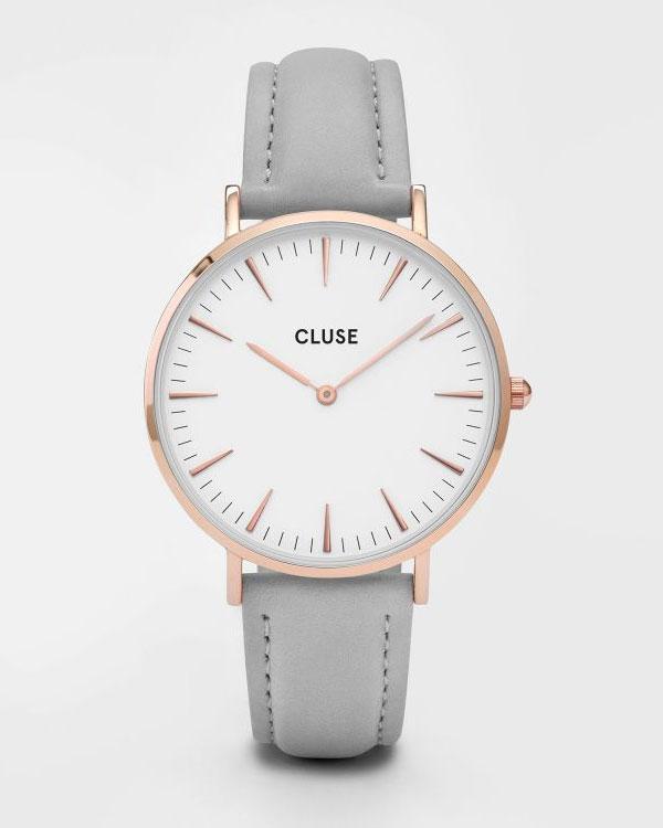 Los relojes CLUSE derrochan elegancia