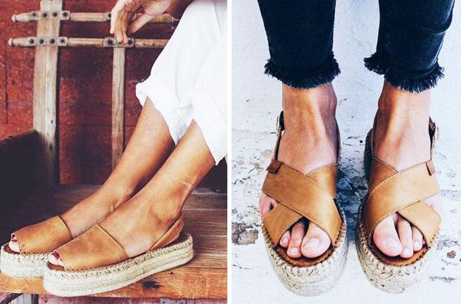 Las SANDALIAS que son tendencia este verano Alohas Sandals