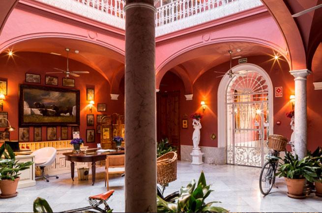 Hotel Conde de la Corte viviendo despacio Badajoz