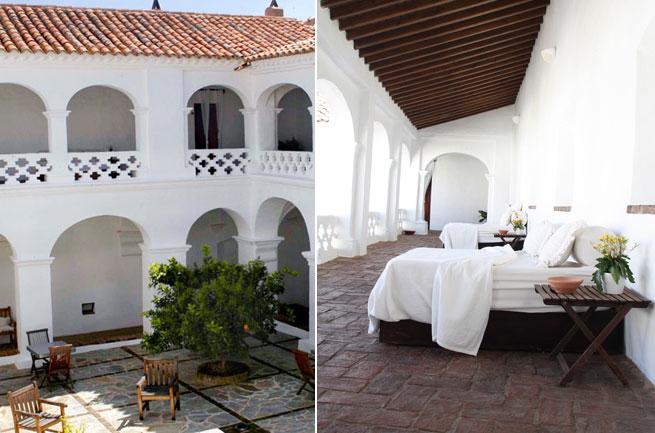 convento en La Parra viviendo despacio Badajoz