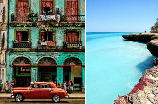 DESTINOS de moda que visitar en 2017 Cuba