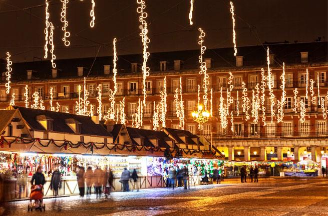 Mercado de Navidad en la Plaza Mayor