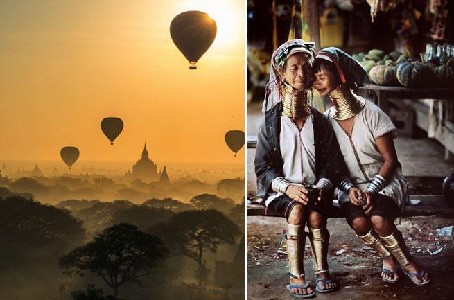 DESTINOS de moda que visitar en 2017 Myanmar