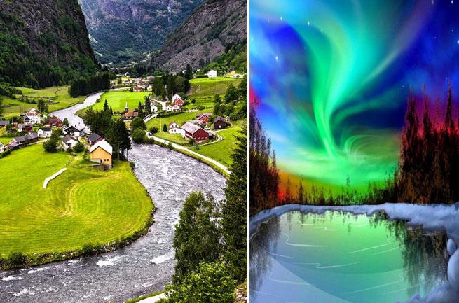 DESTINOS de moda que visitar en 2017 Noruega