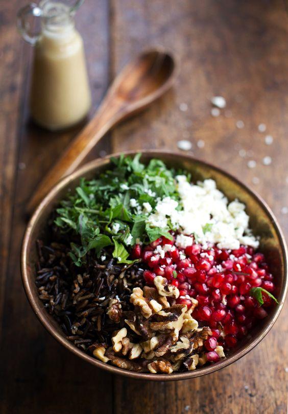 Ensalada de quinoa y granada