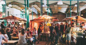 El primer Street Food market CUBIERTO de Madrid: Calle Gourmet