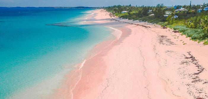 8 increíbles playas de ARENA ROSA en el mundo