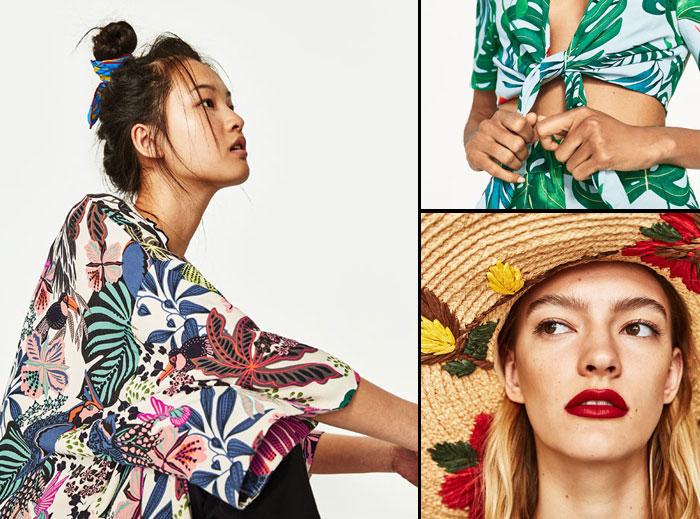 Zara Floral Printed
