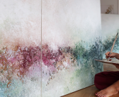 Texturas, color y luz en los cuadros de TERESA J. CUEVAS