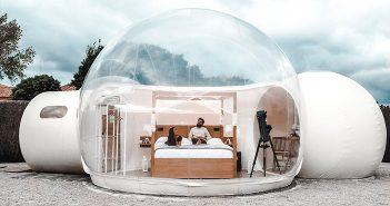 La experiencia de dormir en una BURBUJA bajo las ESTRELLAS