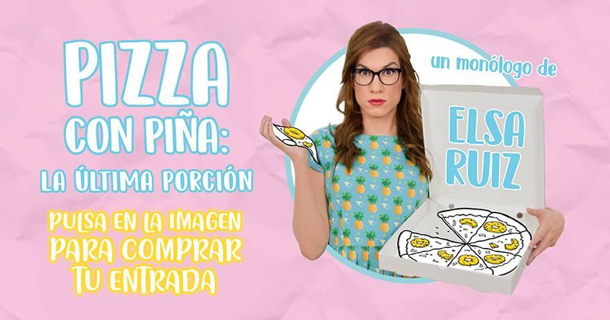 2. Pizza con piña: La última porción